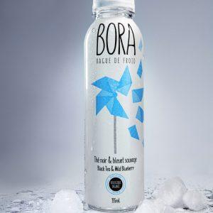 Thé noir & bleuet sauvage biologique infusé à froid rempli d'antioxydants Infusion BORA